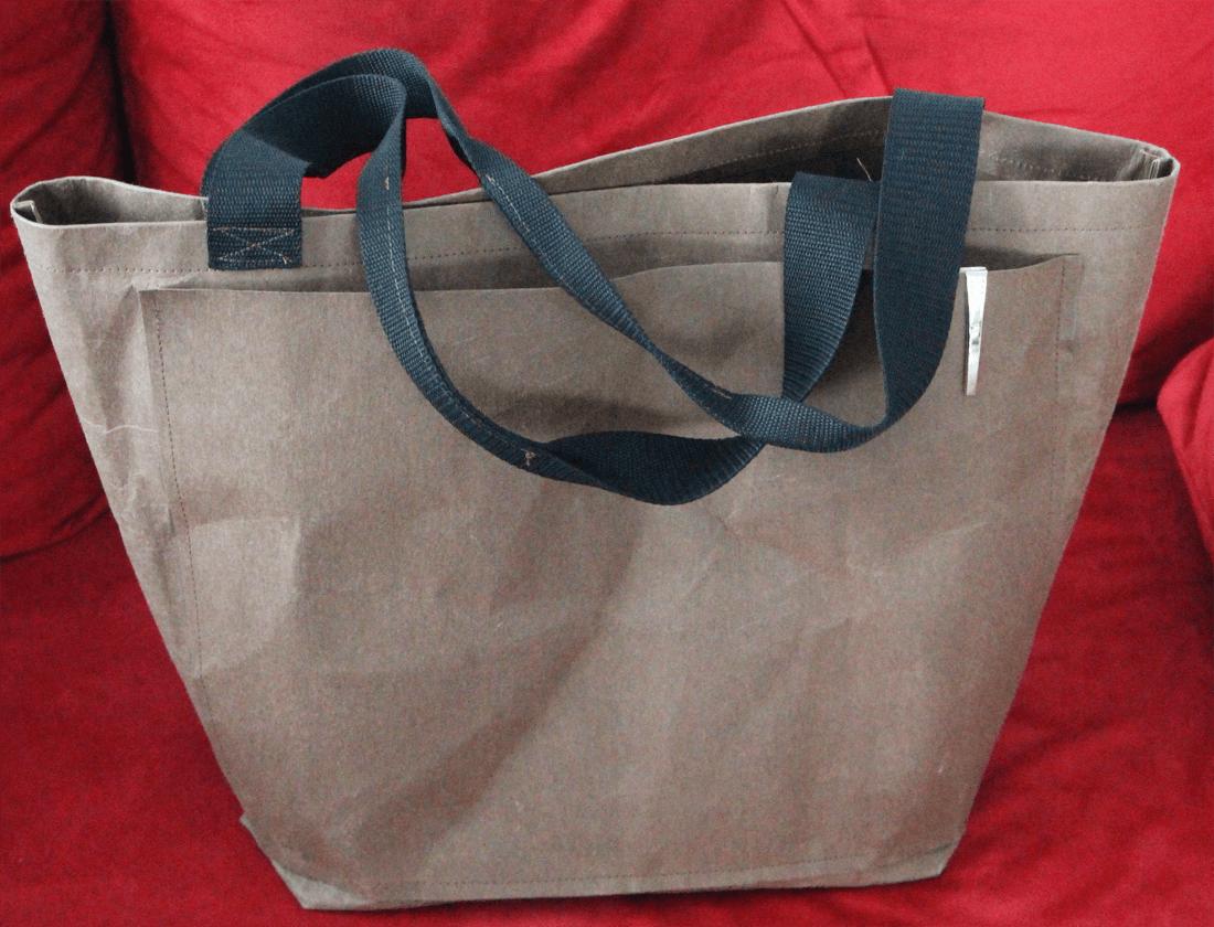 Einkaufstasche aus SnapPap | DIY | Schnittmuster gratis | SnapPap ...