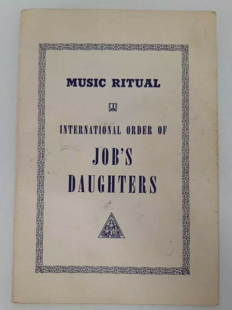 Details About Sheet Music Ritual International Order Job S