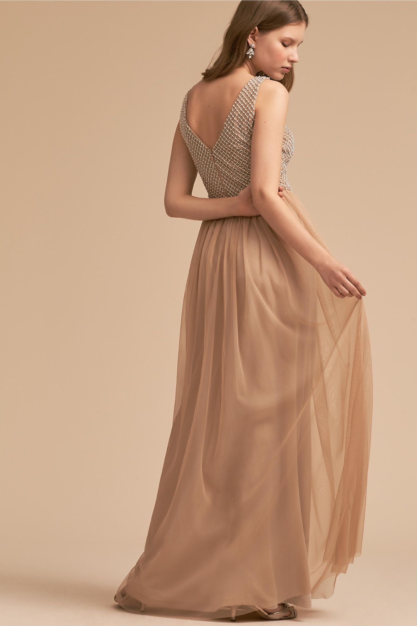 0817b6bdd49 Bryce Dress Champagne in Bridal Party