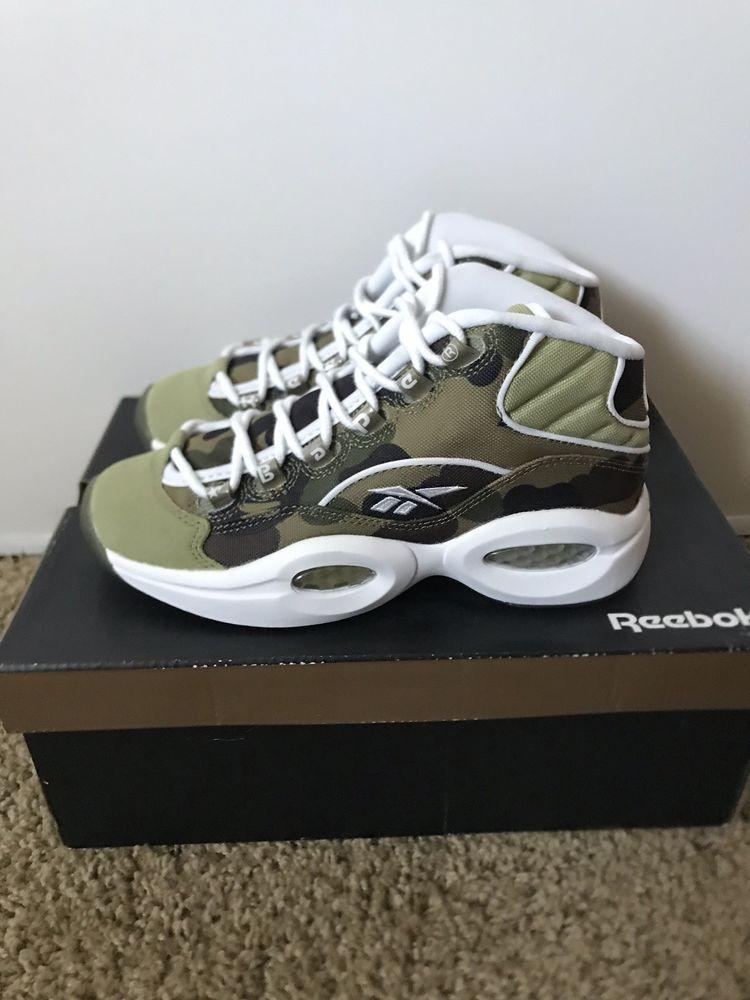 new arrival 8b5e9 cbf94 Reebok Question Bape Camo Bathing Ape X Mita Size 4  fashion  clothing   shoes  accessories  mensshoes  athleticshoes (ebay link)