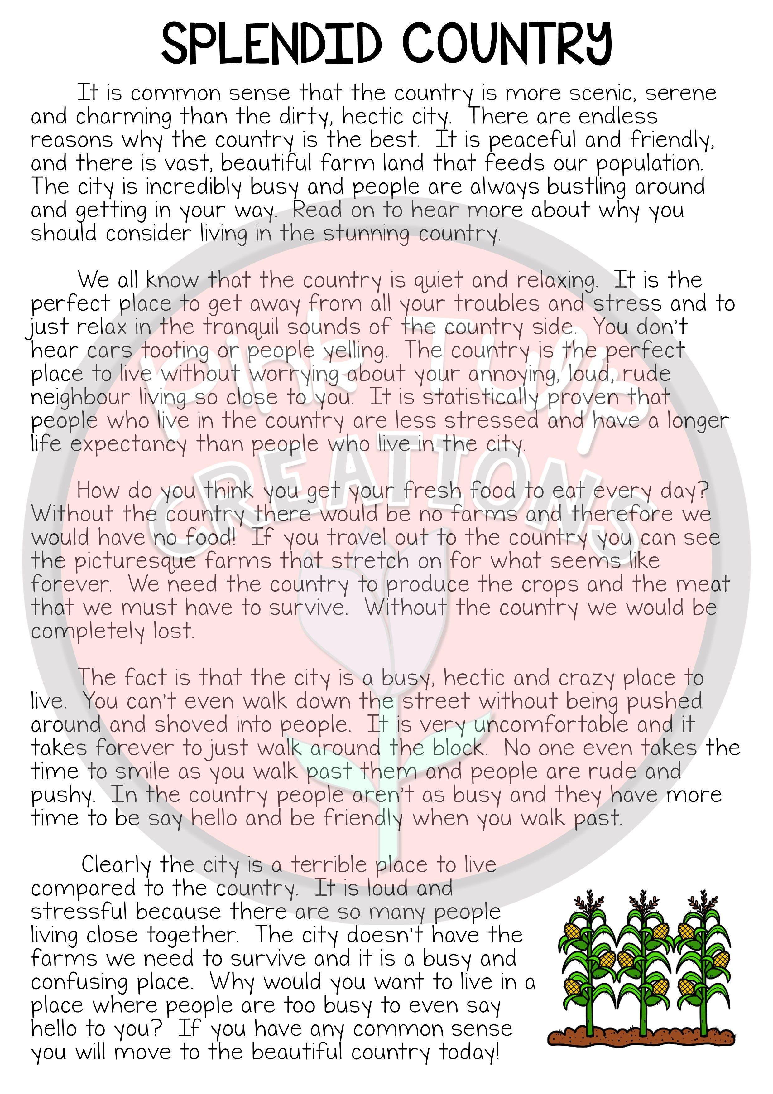 Persuasive Writing Worksheets Grade 7