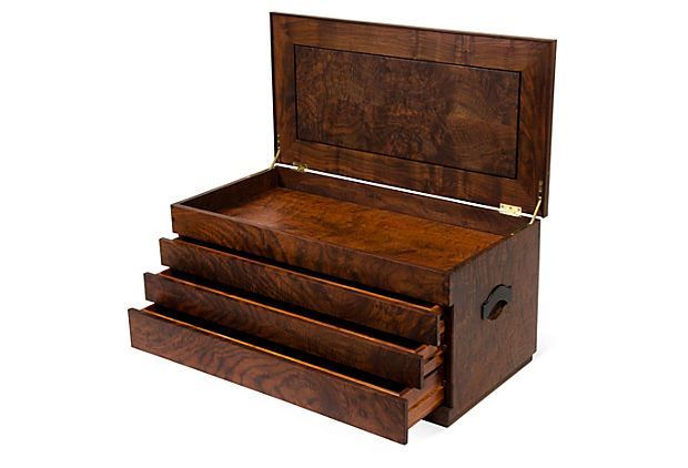 Attractive (Solid Rosewood Silver Storage Chest 2 Of 2) One Kings Lane   Tabletop,