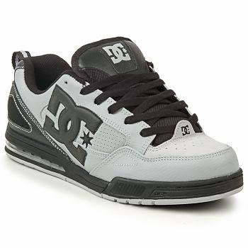 DC Serial Graffik Skate Shoes Mens Black//Red Skateboarding Trainers Sneakers