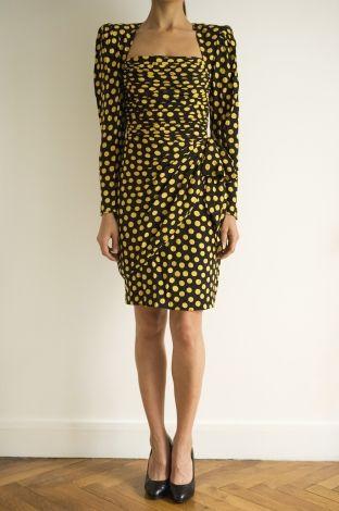 Midi-Kleid EMANUEL UNGARO Mehrfarbig