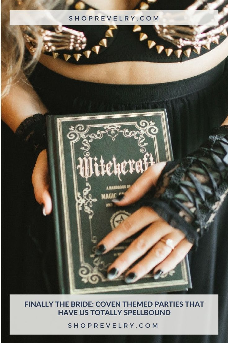Wedding decorations near me october 2018 Finally The Bride Coven Themed Parties That Have Us Totally