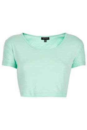 92d4994b3794 Basic Crop Tee $16 in mint TopShop US   Things I might actually buy ...