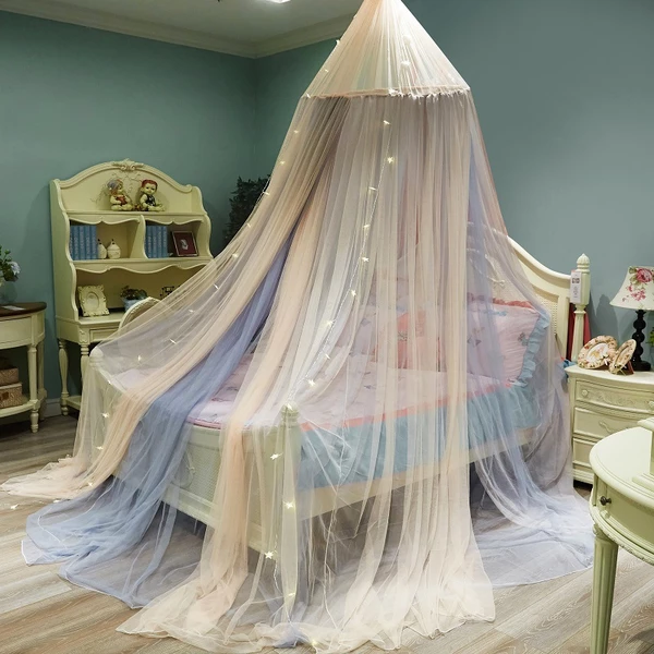 Photo of Three Opening Breathable Mesh Two Tune Color Canopy – Bed Canopy DIY, Be …
