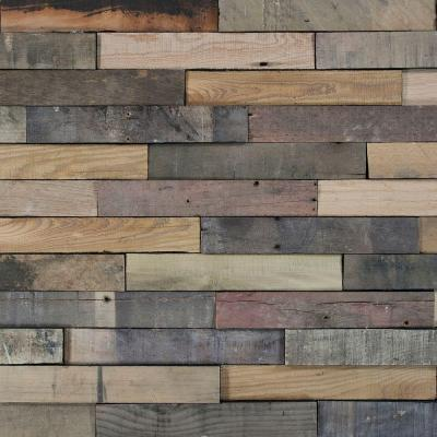 Nuvelle Deco Planks Picket Fence Sun Baked 1 2 In X 2 In