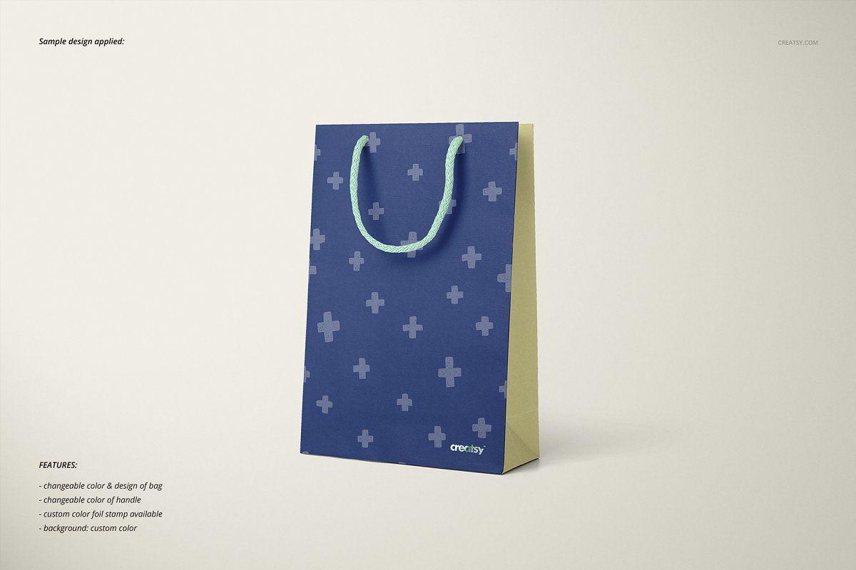 Download Paper Bags Mockup Set Bag Mockup Bags Paper
