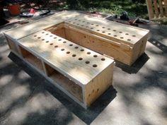 queen storage bed plans storage bed framesstorage bedsdiy - Diy Queen Bed Frame With Storage