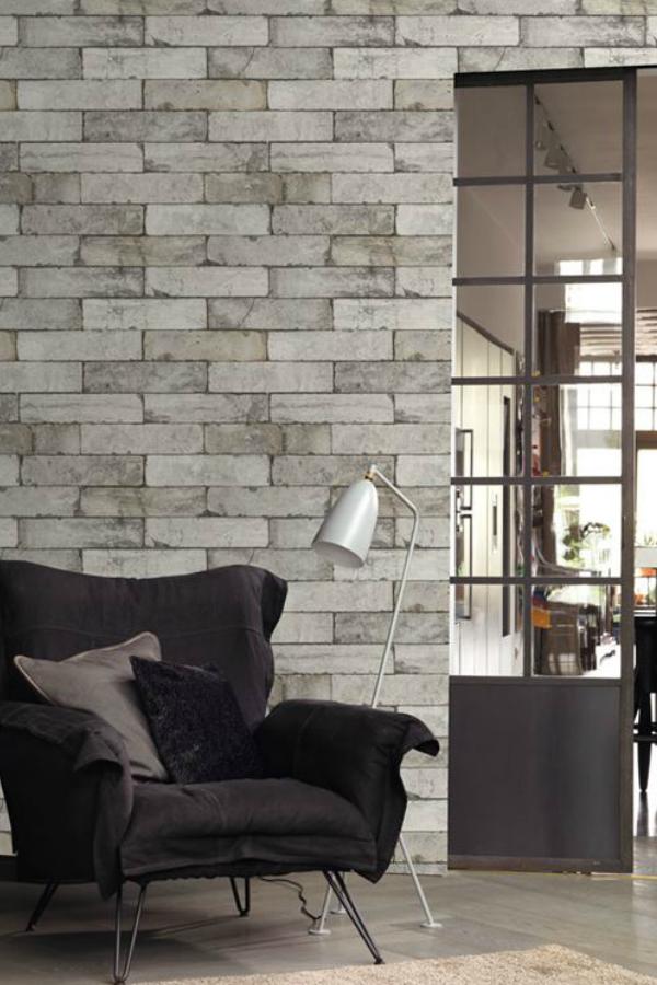 Papier Peint Vinyle Brique Factory Blanc Avec Images Papier