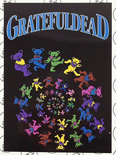 The Grateful Dead Bears Fleece Throw Blanket 40 X 40 Gr Impressive Grateful Dead Throw Blanket