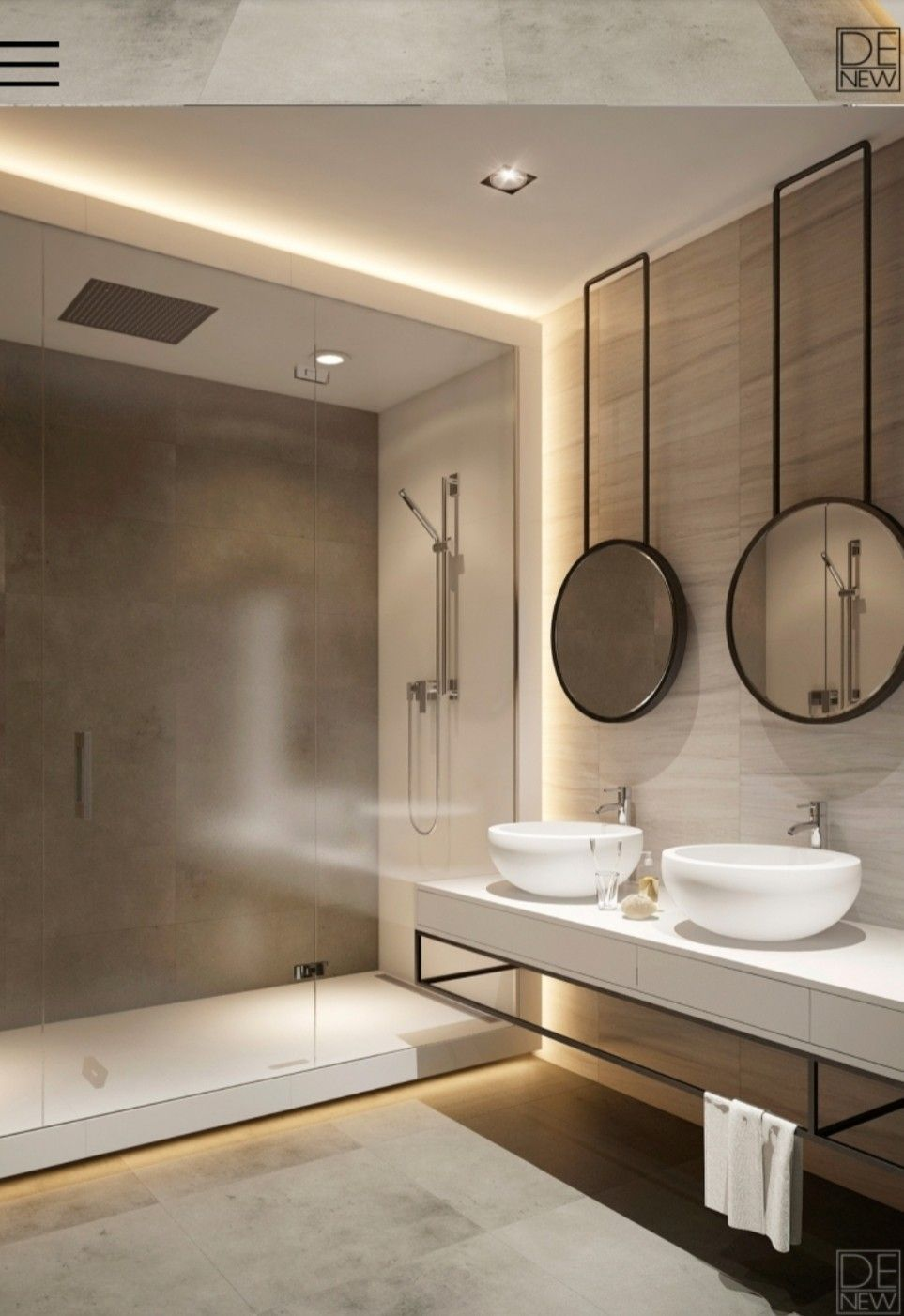 The Easiest Way To Finish Your Bathroom Project Is With These Lighting Ideas Www Lightingstores Eu Visit In 2020 Modern Bathroom Bathroom Interior Luxury Bathroom