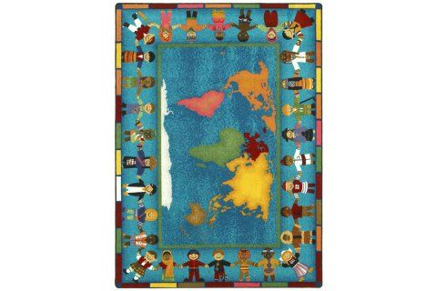 Hands Around The World Carpets With Images Kids Area Rugs
