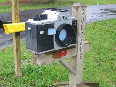 Nikon Mail Box! Gotta get me one of these :-D