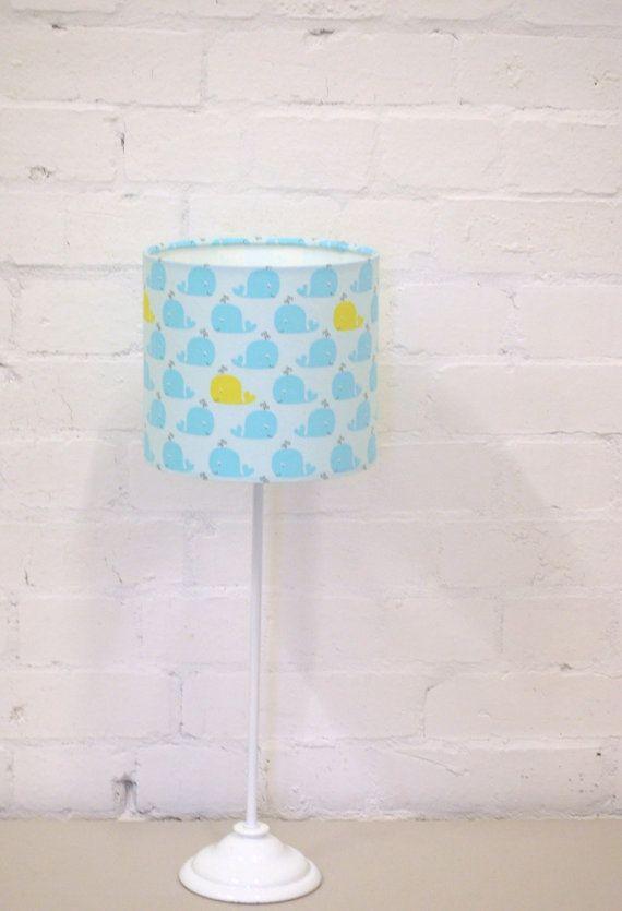 Nursery Lamp Shade Blue Nursery Nautical Lamp By ShadowbrightLamps
