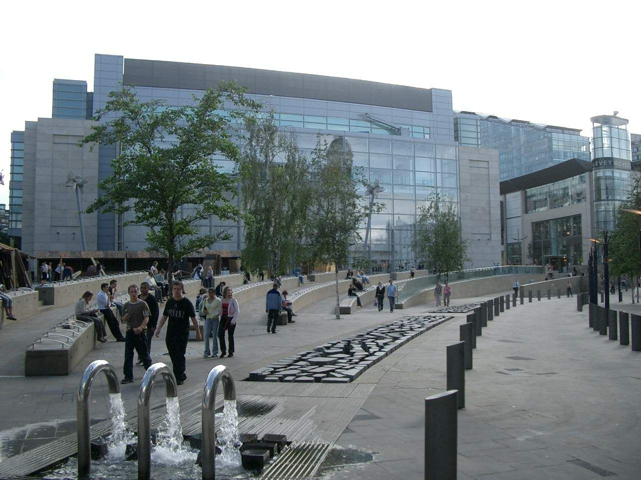 Exchange Square, Manchester.