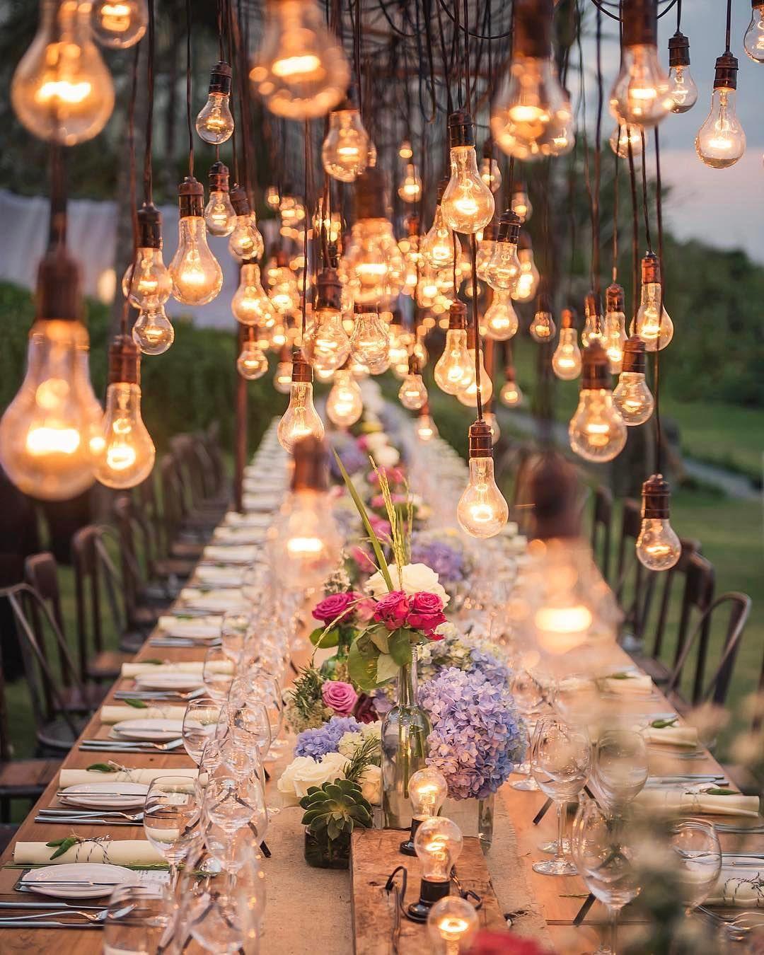 Celebrating 100k Followers With This Stunning Shot By Studioimpressions I M So Grateful Thank You Dekoration Hochzeit Hochzeitsdekoration Lichtdekoration