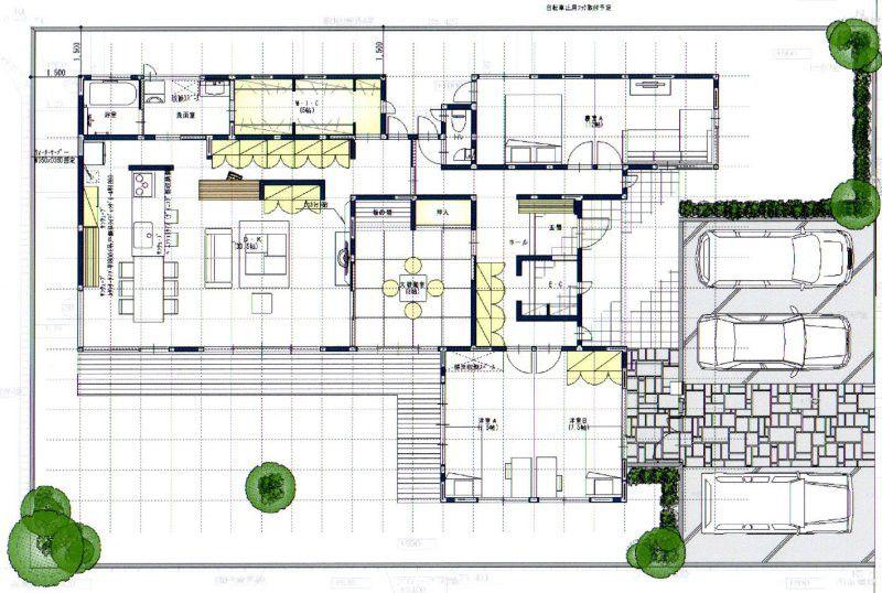 住友林業 平屋プラン初披露 価格交渉 の画像 Hassyの家づくり 東玄関 間取り 家の間取り 平屋 間取り 40坪