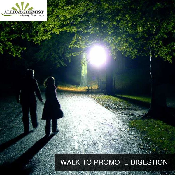 A Walk After A #night #meal Is Recommended, But Did You