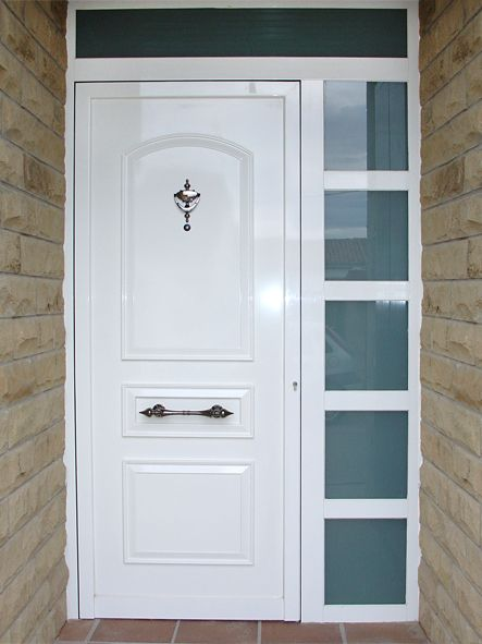 anusa proyectos puertas entrada fijo lateral con