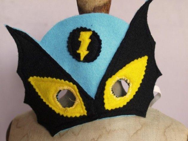 Masque de super h ros feutrine idees crea enfants - Masque de super heros a imprimer ...