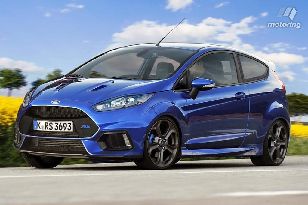 2017 ford fiesta rs 3 door rendered cars daily updated pinterest 2019 ford ford fiesta st. Black Bedroom Furniture Sets. Home Design Ideas
