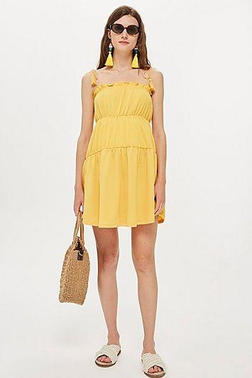 2661c86b6fd1 MATERNITY Tassel Tiered Sun Dress in 2019 | Products | Dresses ...