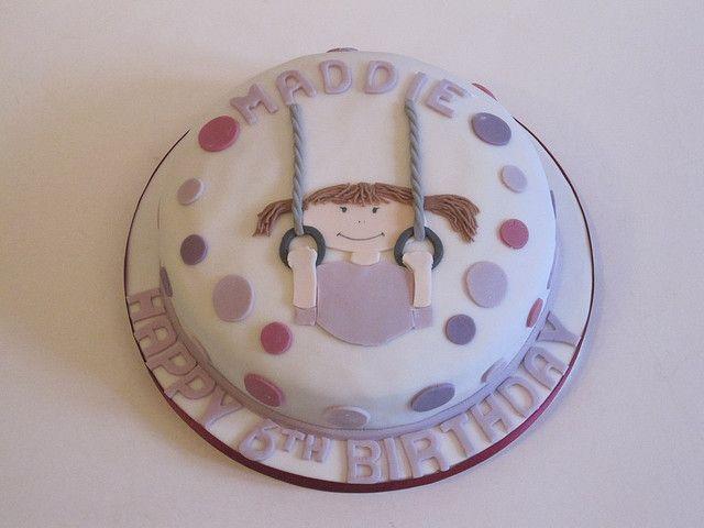 Gymnast Cake  Flickr Photo Sharing