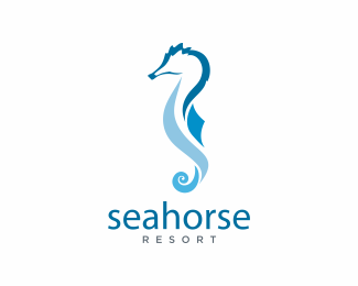 Seahorse Resort Designed By Eridesign Resort Logo Design Seahorse Resort Resort Logo