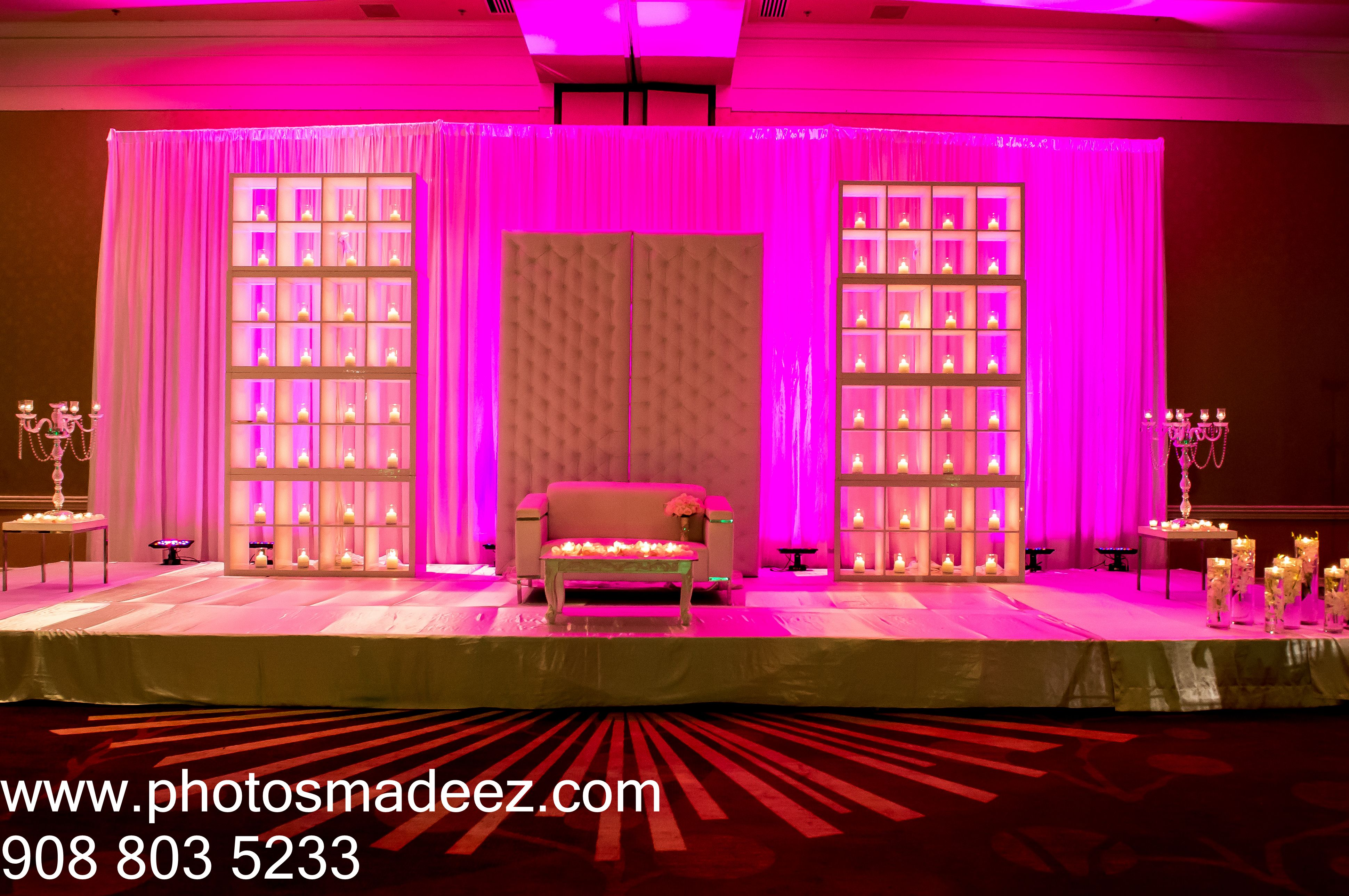 Wedding Reception Mandap Photo - for a mixed Wedding at hyatt ...