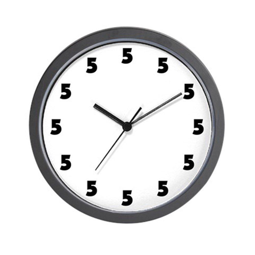 Cafepress Five O Clock Unique Decorative 10 Wall Clock Be Sure To Check Out This Awesome Product This Is An Affiliate L Clock Wall Clock Decor Design