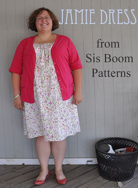 Jamie Dress from Sis Boom patterns   Flickr - Photo Sharing!