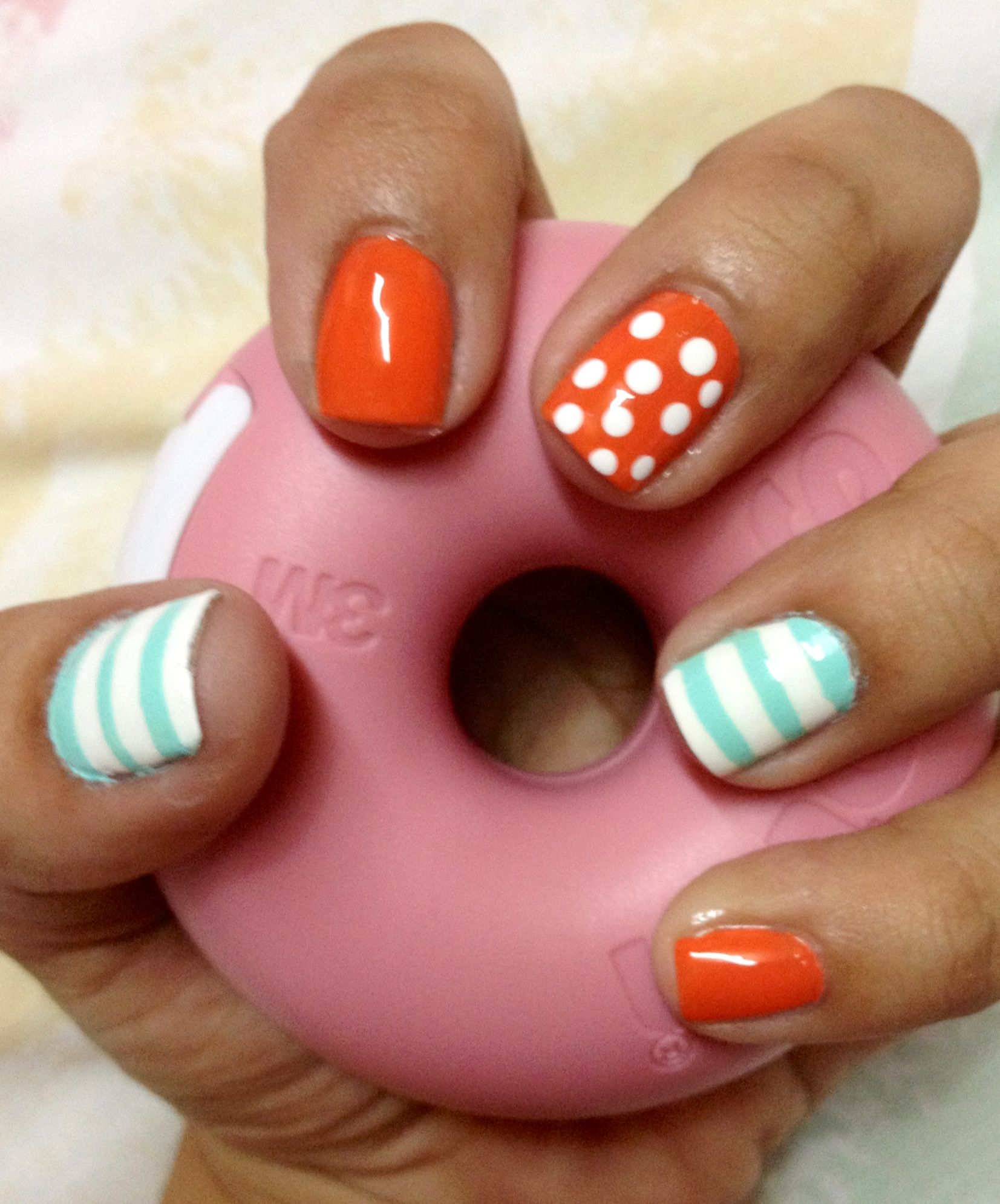 Dots and lines nail art | My Style | Pinterest | Beauty nails