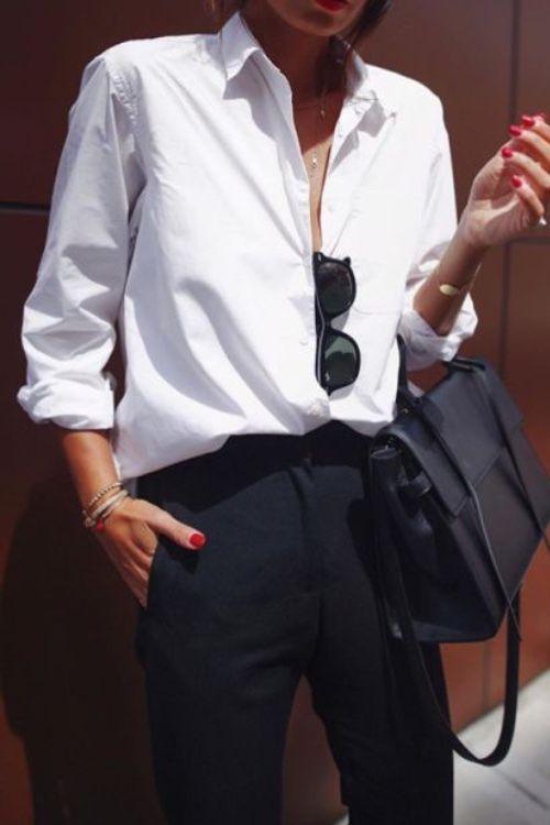 De perfecte witte blouse voor je basisgarderobe – Scandistyle
