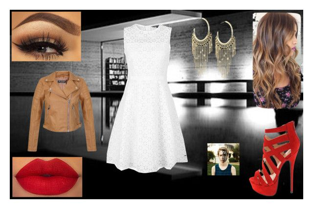 """""""Date Night Dress: Peggy Carter"""" by chesney-kuper ❤ liked on Polyvore featuring beauty, Tommy Hilfiger, Miss Selfridge and Lydell NYC"""