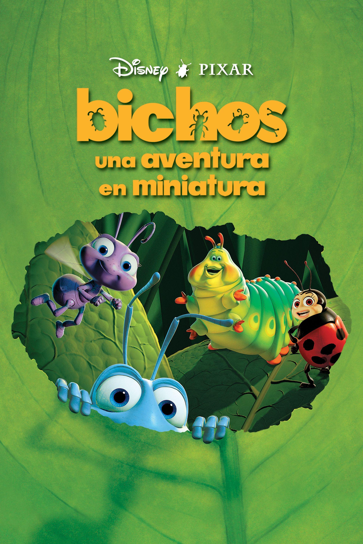 Bichos: Una aventura en miniatura 1998   Sinopsis: Un grupo de saltamontes asalta cada verano la colonia de hormigas donde vive Flick, para apoderarse de las provisiones que han recogido durante el invierno. Un día, Flick abandona el hormiguero y parte en busca de insectos guerreros que les ayuden a defenderse de...