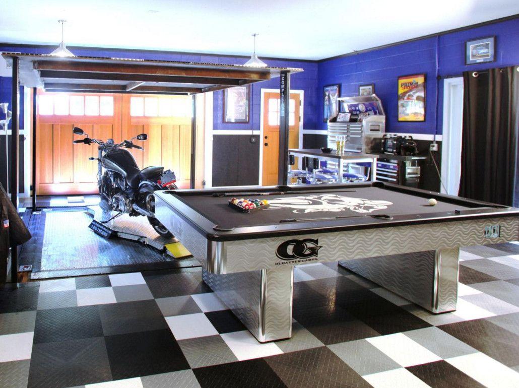 man cave ideas for garage | Best Man Cave Garage Ideas Your Dream ...