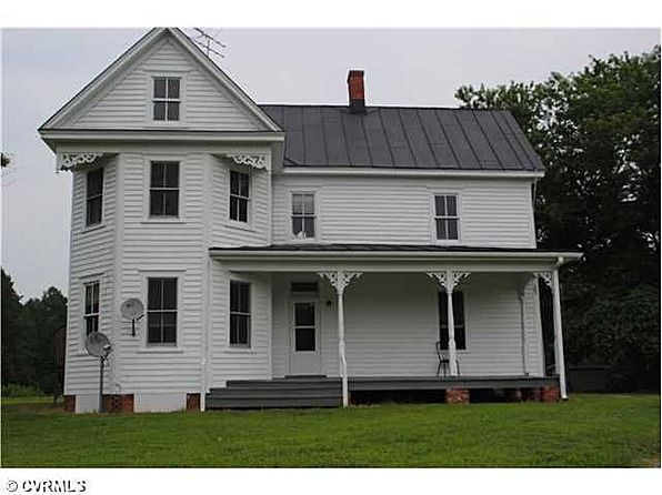 Historic 1895 Folk Victorian Home 2566 Morattico Rd Lively VA 22523 Sold For 145000