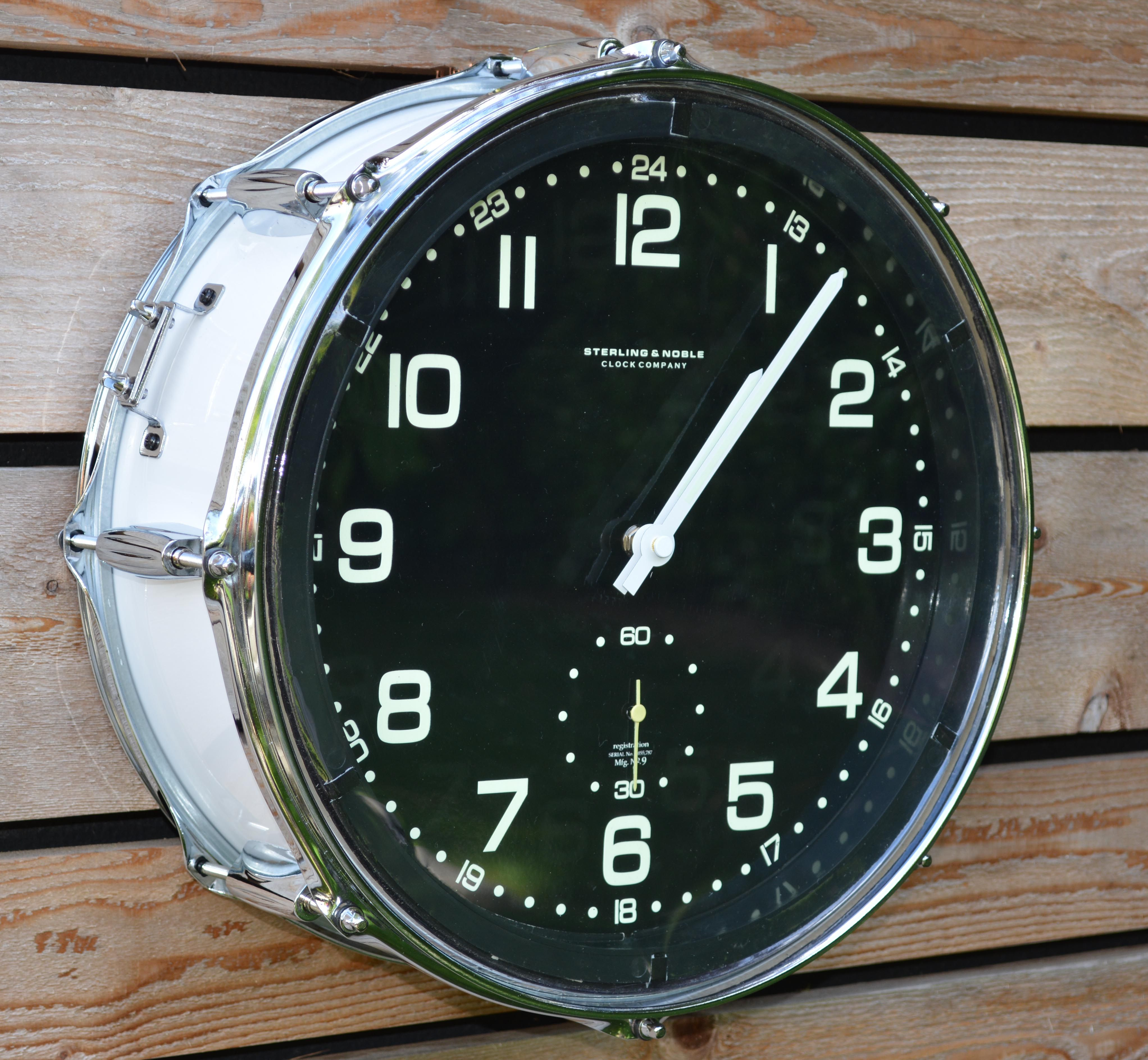 gretsch snare drum clock from timebeats on etsy music rooms pinterest gretsch and drums. Black Bedroom Furniture Sets. Home Design Ideas