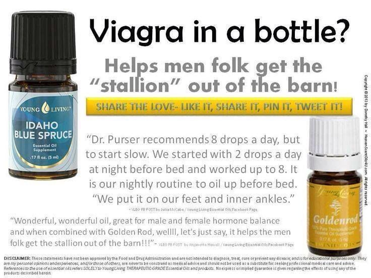Natural oil for sex