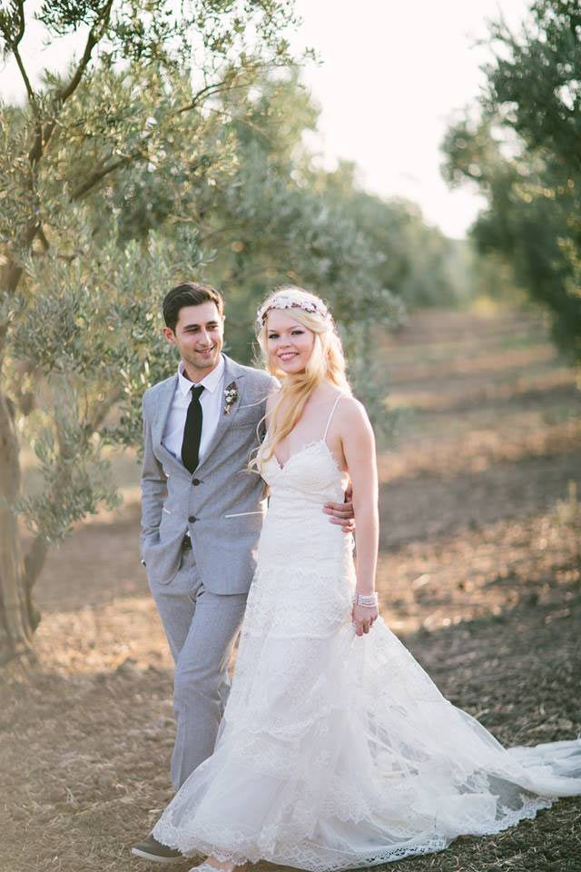 ieva, the yolancris nymph looks stunning with togo bridal gown from