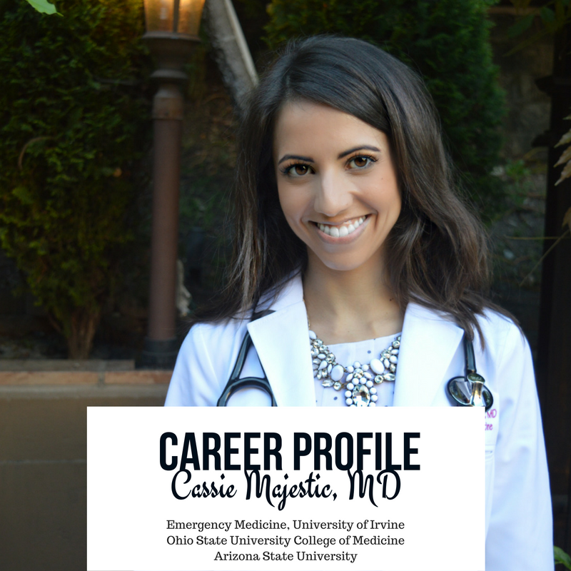 career profile - Cassie - attending physician - emergency