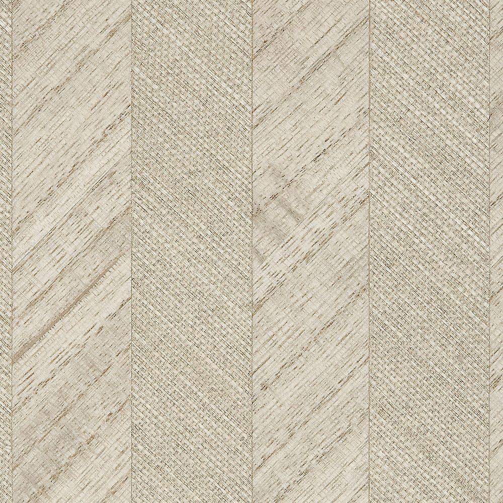 Phillip Jeffries Simply Seamless Wallpaper: Ellington Grey Deco Wood A Specialty & Metallic 4283