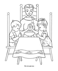 10 FREE Thanksgiving Coloring Pages   Saving by Design   288x236