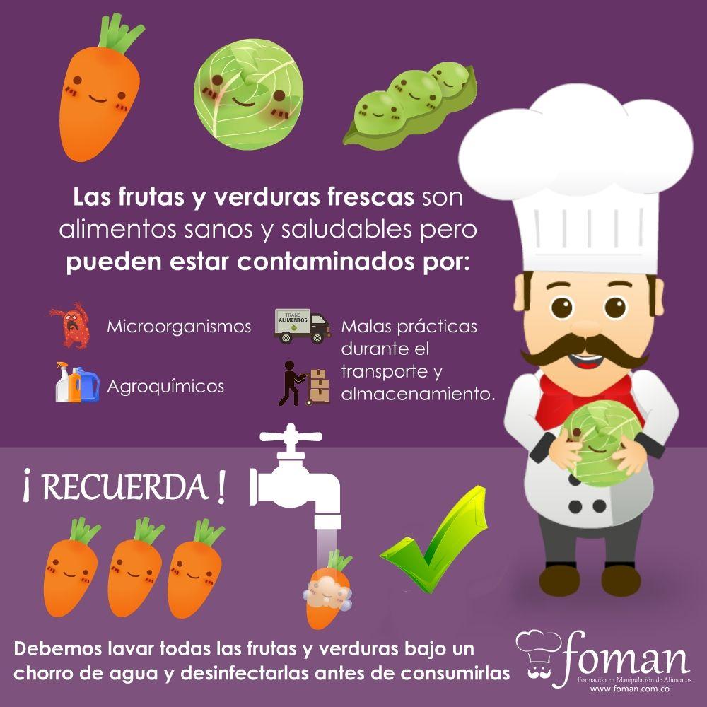 Porqu es importante desinfectar las frutas y verduras for Programa de limpieza y desinfeccion de una cocina