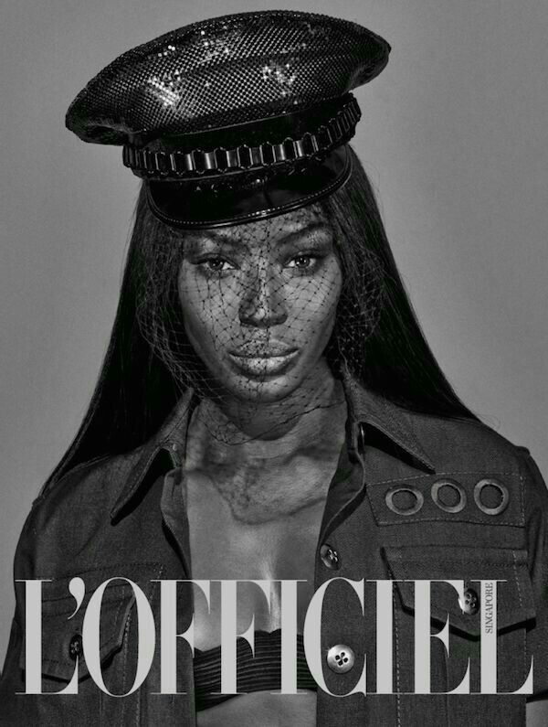 Naomi Campbell covers L'OFFICIEL March 2015