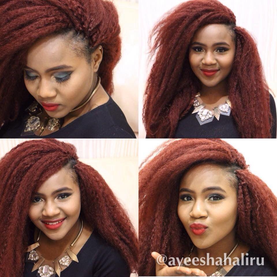 Crochet braids shared by ayeeshahaliru hairstyles twists and braids