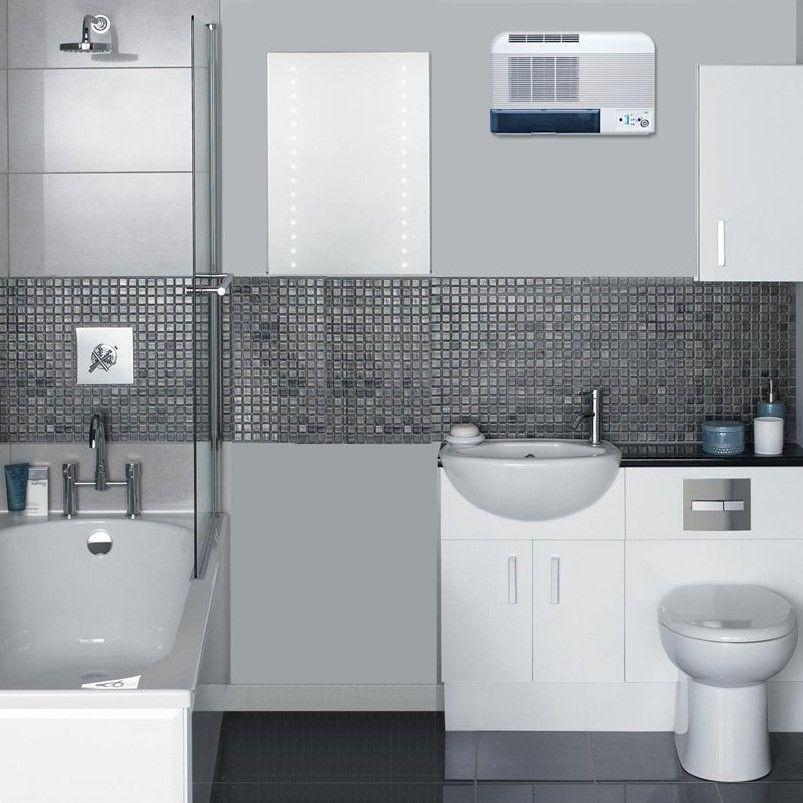 Dcw10 Wall Mount Free Standing Dehumidifier 10l Small Bathroom Layout Bathroom Design Small Modern Bathroom Layout