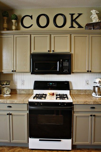 Follow Cowboy Phraseology Kitchen Cabinets Decor Decorating
